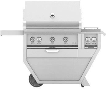 "Hestan GABR36CX2GR - Hestan 55"" Freestanding Grill"