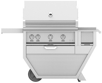 "Hestan GMBR36CXYW - 55"" Freestanding Grill"