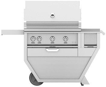 "Hestan GSBR36CXWH - 55"" Freestanding Grill"