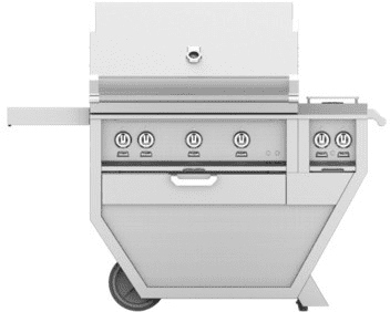 "Hestan GMBR36CX2OR - 55"" Freestanding Grill"