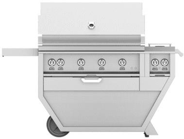 "Hestan GMBR42CX2PP - 61"" Freestanding Grill"
