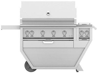 "Hestan GMBR42CX2BK - 61"" Freestanding Grill"