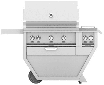 "Hestan GSBR36CX2OR - 55"" Freestanding Grill"