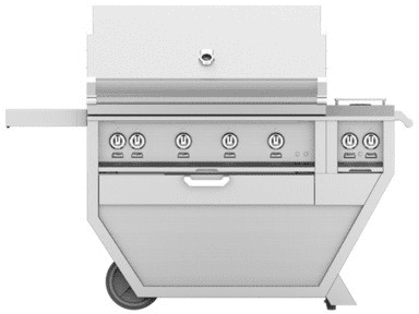 "Hestan GSBR42CX2OR - 61"" Freestanding Grill"