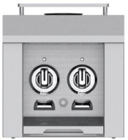 Hestan AGB122NGYW - Double Side Burner