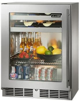 Perlick HH24BS3L - Stainless Steel Glass Door