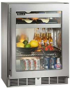 Perlick HH24BS3R - Stainless Steel Glass Door