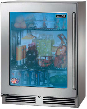 "Perlick Signature Series HH24RS33L - 24"" Signature Series Sottile Outdoor Refrigerator"