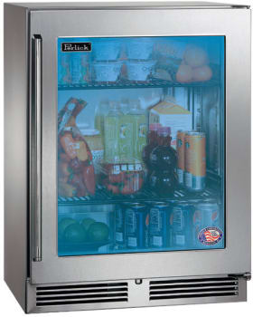 "Perlick Signature Series HH24RS33R - 24"" Signature Series Sottile Outdoor Refrigerator"