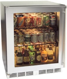 Perlick HH24RS1L - Stainless Steel Solid Door with Left Hinge
