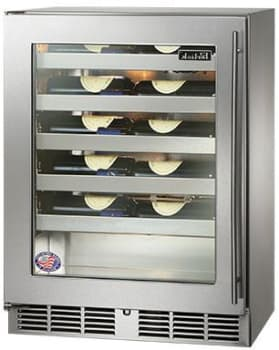 Perlick HH24WS3L - Stainless Steel Glass Door