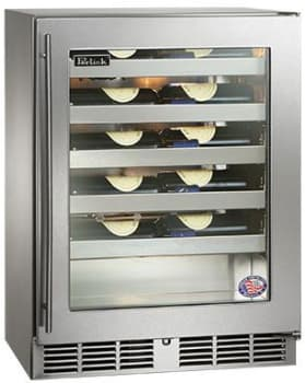 Perlick HH24WS3R - Stainless Steel Glass Door