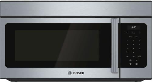 Bosch 300 Series HMV3053U - Bosch 300 Series Over-the-Range 1,000 Watt Microwave with 300 CFM Ventilation (vented or recirculated)