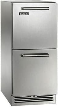 "Perlick Signature Series HP15RO35 - 15"" Signature Series Outdoor Refrigerator Drawers"