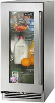 "Perlick Signature Series HP15RO34L - 15"" Signature Series Outdoor Refrigerator (also available as ready custom panels!)"