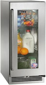 "Perlick Signature Series HP15RO34R - 15"" Signature Series Outdoor Refrigerator (also available as ready custom panels!)"