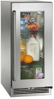 "Perlick Signature Series HP15RS33R - 15"" All-Refrigerator (also available for custom panels!)"