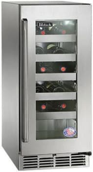"Perlick Signature Series HP15WS33R - 15"" Signature Series Wine Reserve"