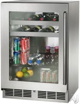 "Perlick Signature Series HP24BS34L - 24"" Signature Series Beverage Center (also available as ready for custom panels!)"