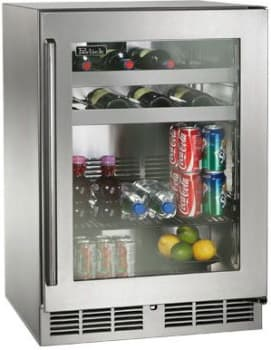 "Perlick Signature Series HP24BS34R - 24"" Signature Series Beverage Center (also available as ready for custom panels!)"