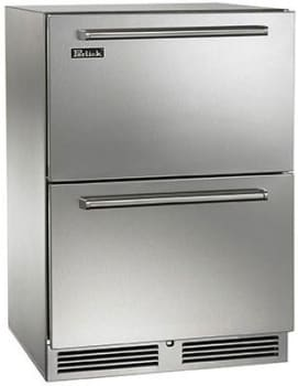 "Perlick Signature Series HP24FS36 - 24"" Signature Series Freezer (also available as ready for custom panels!)"