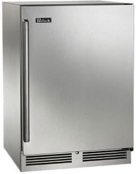 "Perlick Signature Series HP24FO32R - 24"" Signature Series Freezer (also available as ready for custom panels!)"
