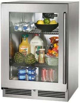 "Perlick Signature Series HP24RS34L - 24"" Signature Series Refrigerator (also available as ready for custom panels!)"