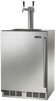 "Perlick C-Series HC24TB32L2 - 24"" Outdoor Beer Dispenser (also available for 1-faucet 1/4 barrel!)"
