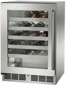 "Perlick Signature Series HP24WS34L - 24"" Signature Series Outdoor Wine Reserve"