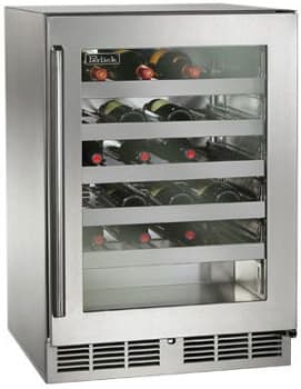 "Perlick Signature Series HP24WO34R - 24"" Signature Series Outdoor Wine Reserve"