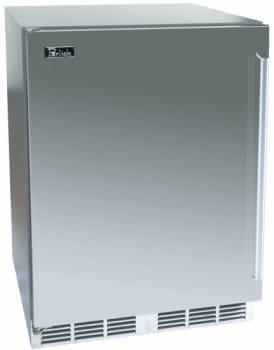 Perlick Signature Series HP24WS4R - Solid Stainless Steel Door