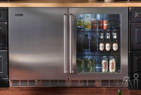 Perlick Hp48frb 48 Inch Undercounter Freezer Refrigerator