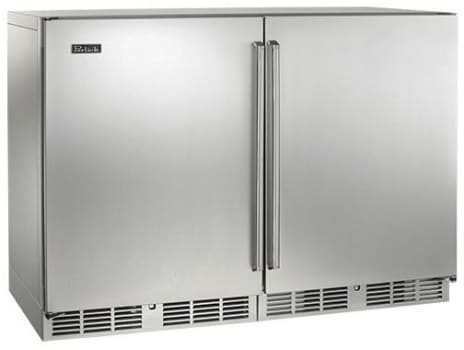 "Perlick Signature Series HP48WOS32L2R - 48"" Refrigerator/Wine Reserve (also available with custom panel options!)"