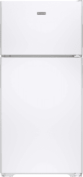 GE HPE15BTHWW - 14.6 cu. ft. Recessed Handle Top-Freezer Refrigerator