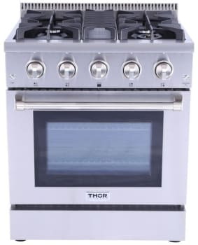 Thor Kitchen HRG3080U - Front View