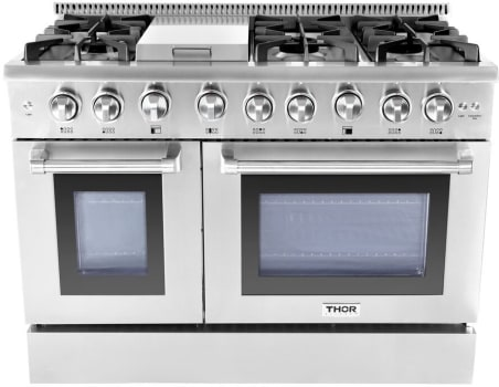 Thor Kitchen Hrg4808u 48 Inch Freestanding Professional Gas Range