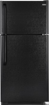 Haier HRT18R1APB - 18.1 cu. ft. Capacity Top Mount Refrigerator - Black