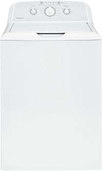 """Hotpoint HTW240ASKWS - 27"""" Top Load Washer with Stainless Steel Basket and Heavy-Duty Agitator"""