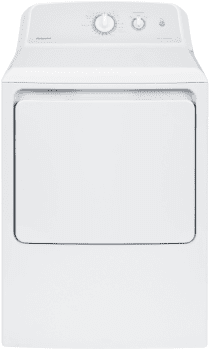 Hotpoint HTX24GASKWS - 27 Inch Gas Dryer with 6.2 cu. ft. Capacity