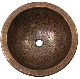 Houzer The Hammerwerks Collection HWAUGRF - Copper