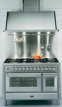 Ilve Majestic Techno Collection UMT120FMPM - Ilve 48 Inch Dual Fuel Range (Not Exact Product Image)