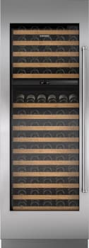 "Sub-Zero IW30LH - 30"" Integrated Wine Storage with optional Pro Handle panel"