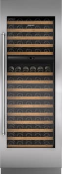 "Sub-Zero IW30RH - 30"" Integrated Wine Storage with optional Pro Handle panel"