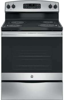 "GE JB250RKSS - 30"" Electric Range with 4 Coil Heating Elements and 5.3 cu. ft. Oven"
