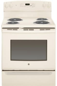 "GE JB255DJCC - Bisque 30"" Electric Range"
