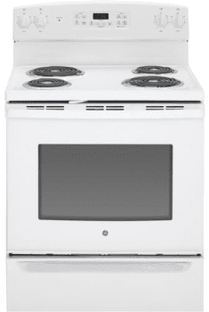 "GE JB255DJWW - White 30"" Electric Range"