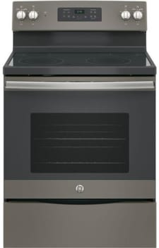 "GE JB645EKES - 30"" Freestanding Electric Range in Slate with 4 Smoothtop Burners and 5.3 cu. ft. Oven"