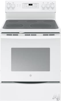 "GE JB700DJWW - 30"" Freestanding Electric Range with 5 Heating Elements"