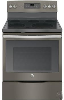 "GE JB700EJES - 30"" Freestanding Electric Range with 5 Heating Elements"