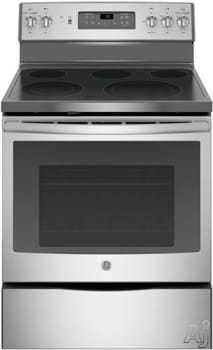 "GE JB700SJSS - 30"" Freestanding Electric Range with 5 Heating Elements"